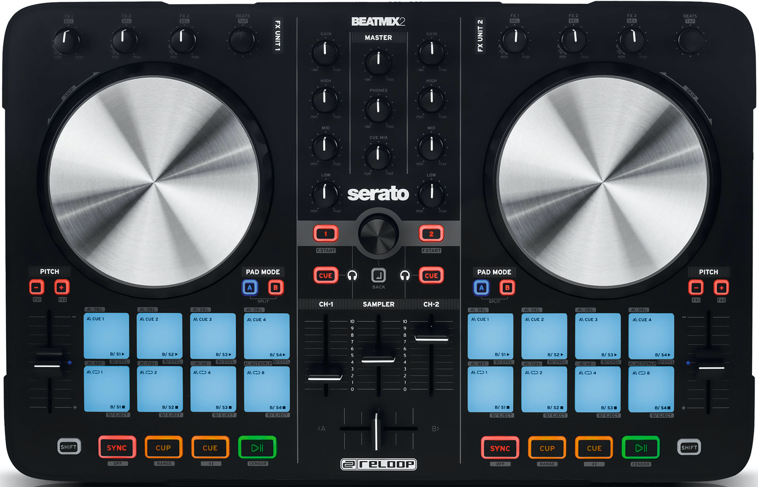 Dj-контроллер Reloop Beatmix 2 MKII