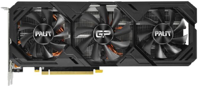 Видеокарта Palit GeForce RTX 2080 Super Gaming Pro OC 8Gb