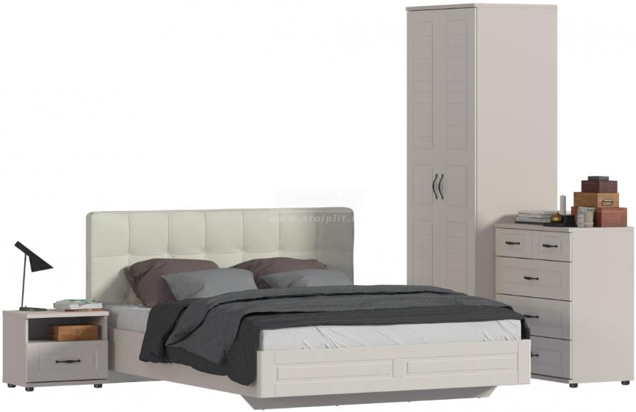 Спальня Столплит Сити 129-462-938-2644 бежевый песок/кофе
