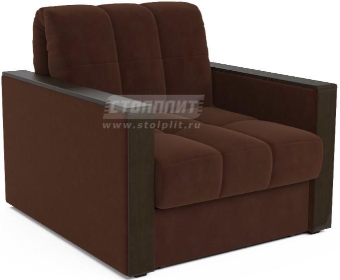 Кресло-кровать Столплит Даллас коричневый/Luna 092 105x88x83 см