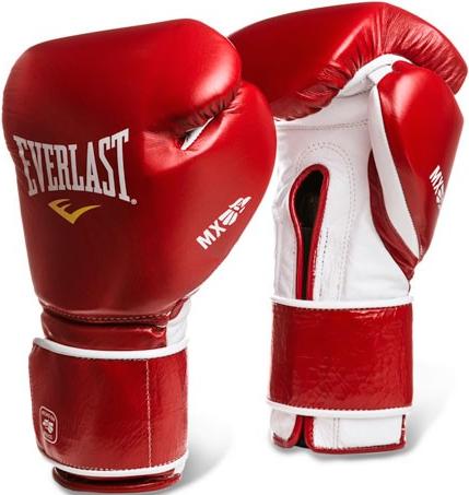 Перчатки Everlast MX Training 12oz Red (на липучке)