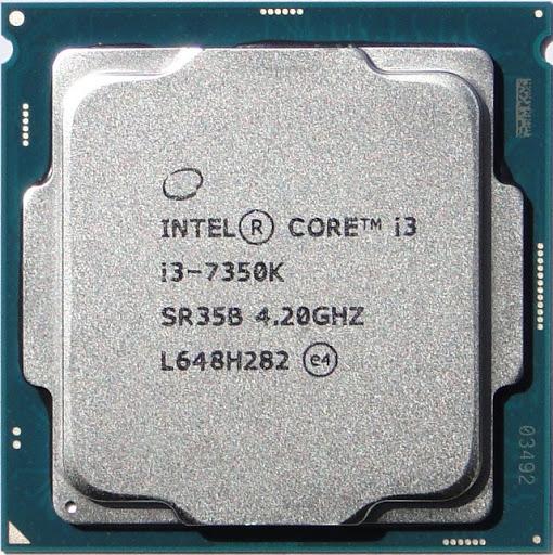 Процессор (CPU) Intel Core i3-7350K 4.2GHz SR35B OEM
