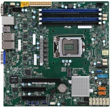 Материнская плата Supermicro X11SSH-LN4F LGA 1151