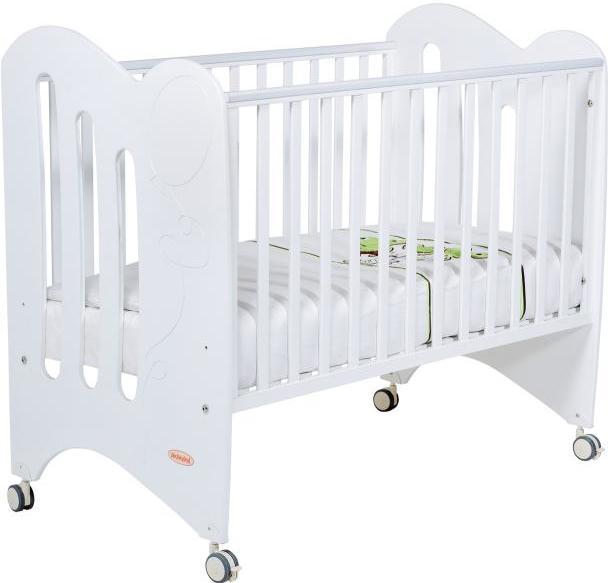 Кроватка Papaloni Luna белый