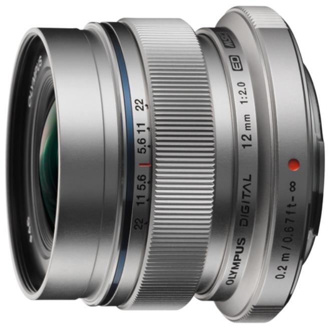 Объектив Olympus M.Zuiko Digital ED 12mm f/2.0 Silver