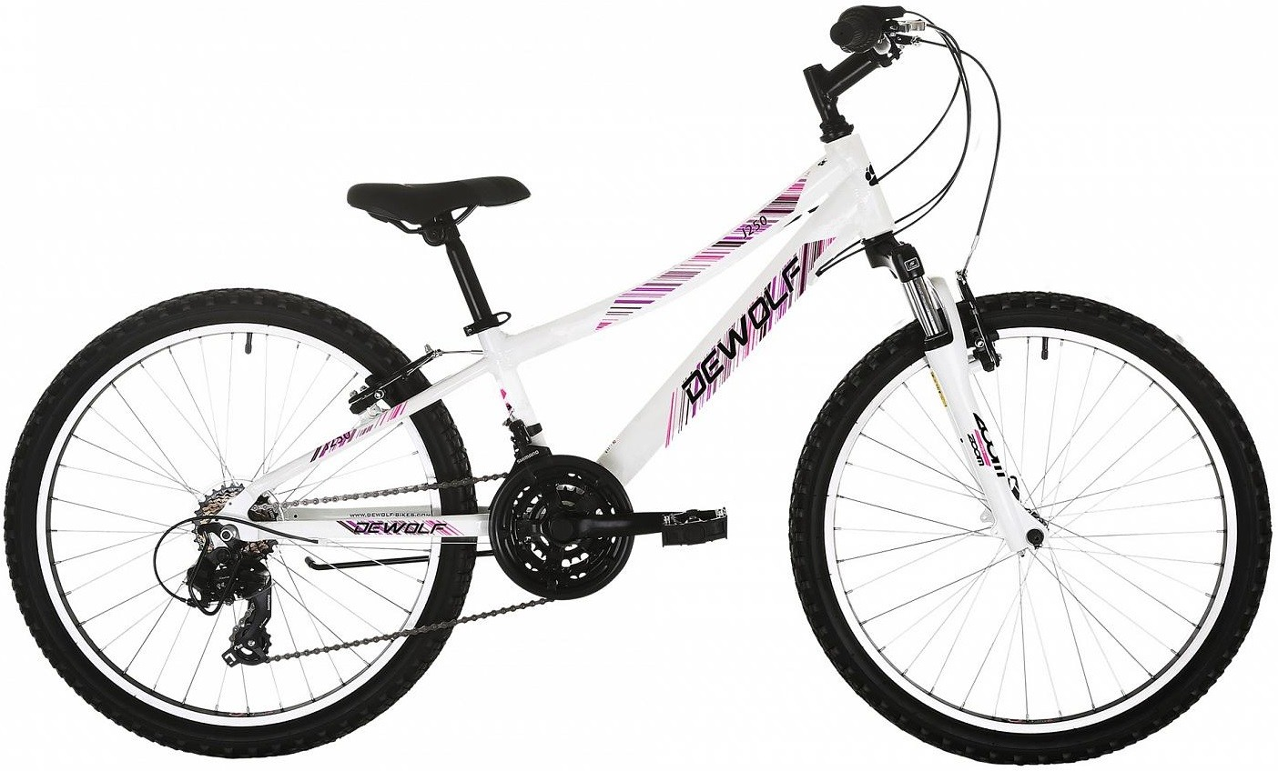 "Велосипед Dewolf J250 Girl White 24""/11"""