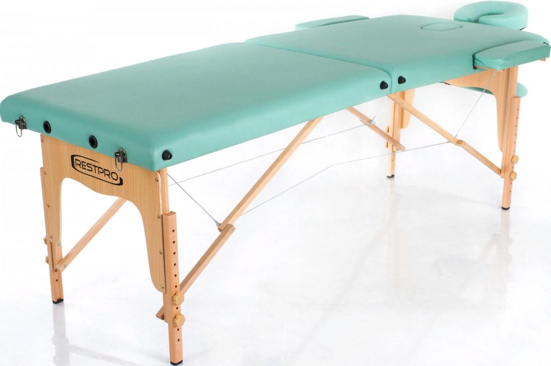 Массажный стол Restpro Classic 2 Blue/G…