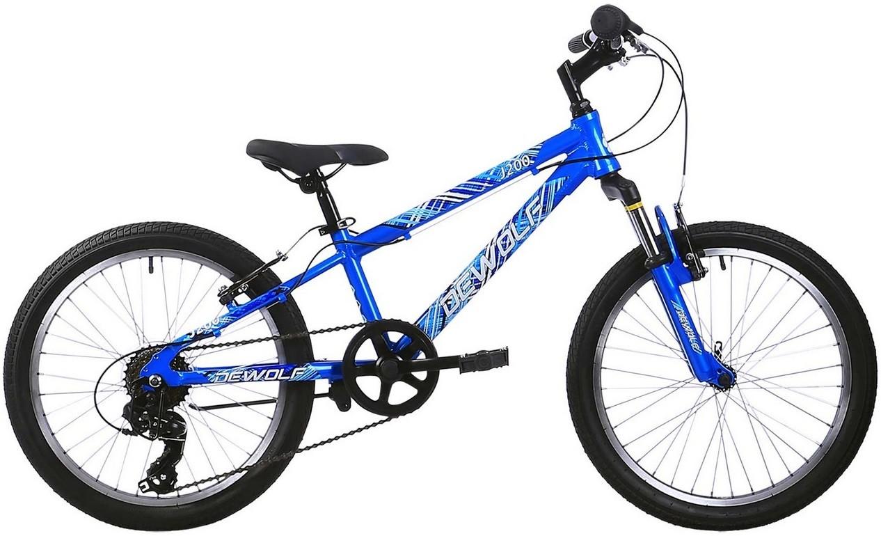 """Велосипед Dewolf J200 Boy синий 20""""/10"""""""