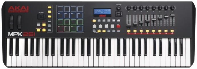 Миди-клавиатура Akai Pro MPK261 USB