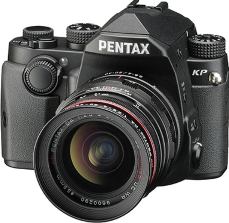 Фотоаппарат Pentax KP Kit DA 16-85mm f/3.5-5.6 WR Black + 3 рукоятки
