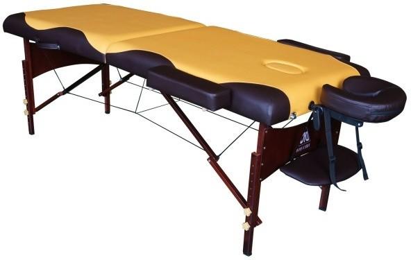 Массажный стол DFC Nirvana Relax Mustard/Brown