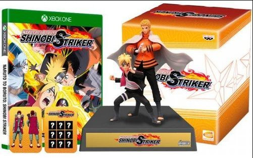 Игра Naruto to Boruto Shinobi Striker Collectors Edition Xbox One русские субтитры
