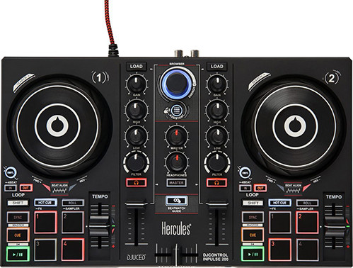 Dj-контроллер Hercules DJ Control Inpulse 200