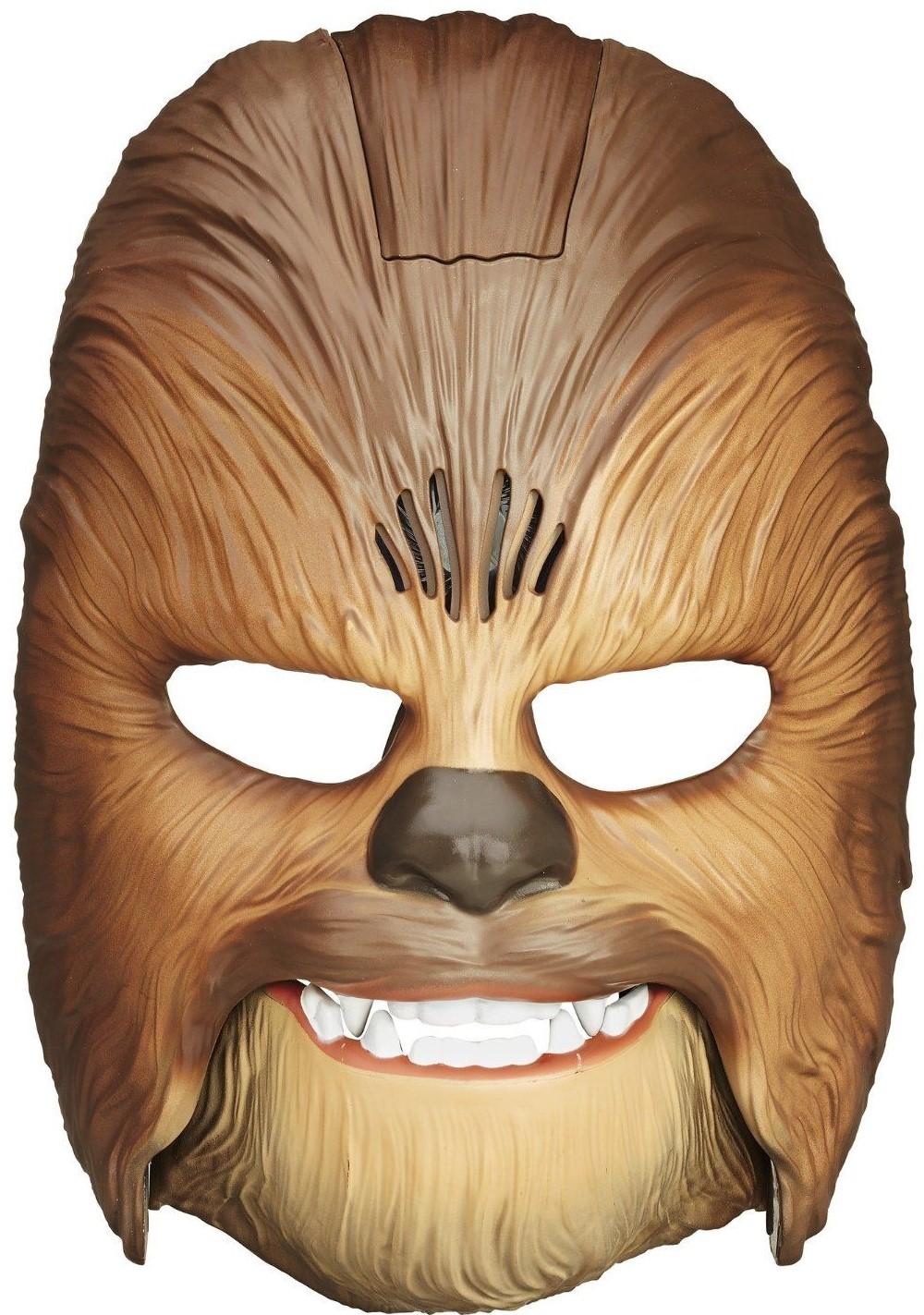 Маска Hasbro Star Wars Чубакка коричневый