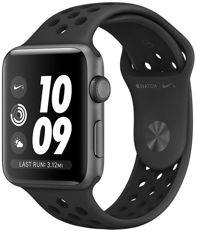 Умные часы Apple Watch Nike+ Series 3 38mm MTF12 Space Grey/Anthracite Black
