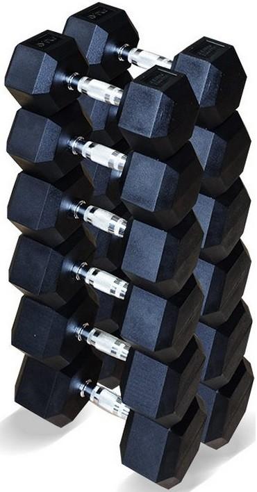 Гантели Original FitTools 6 пар 12,5-25 кг