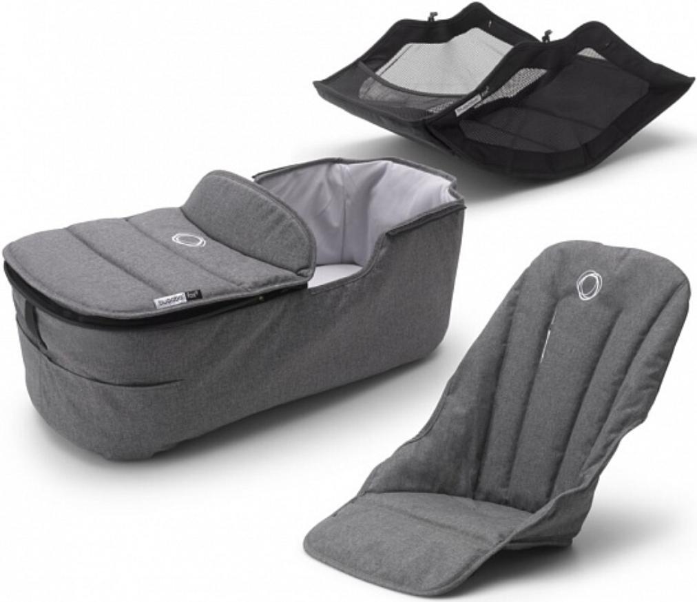 Комплект для коляски Bugaboo 230255GM02 Grey Melange