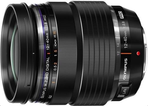 Объектив Olympus M.Zuiko Digital ED 12-40mm f/2.8 Pro Black