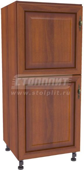 Пенал Столплит Регина 331-460-360-7049 орех мария луиза/вишня патина 60x142x56 см