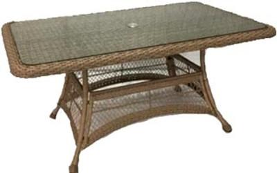 Стол Афина-Мебель T130Br коричневый