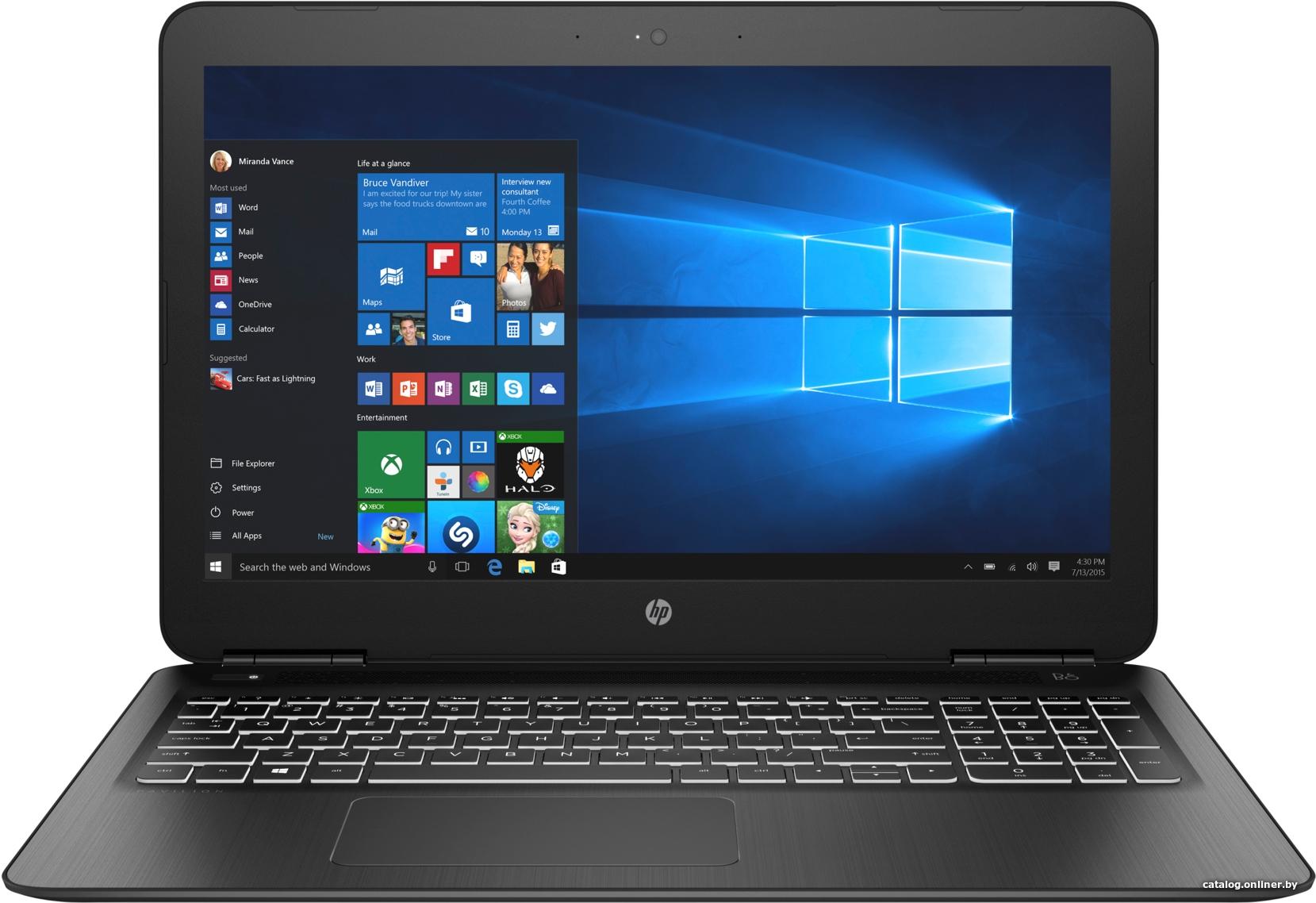 "Ноутбук HP 15-bc411ur 15,6""/1,6GHz/8Gb/…"