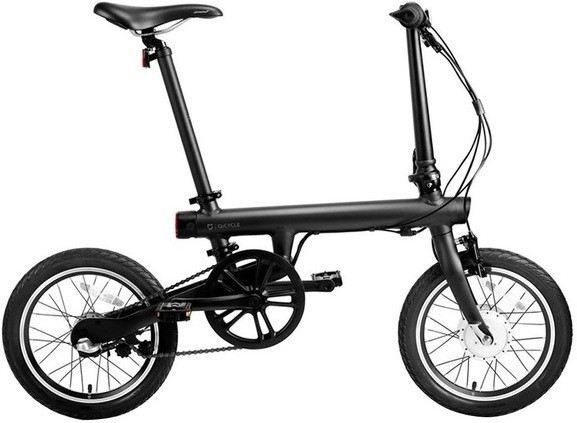 Электровелосипед Xiaomi MiJia QiCycle Folding Electric Bike черный 16""