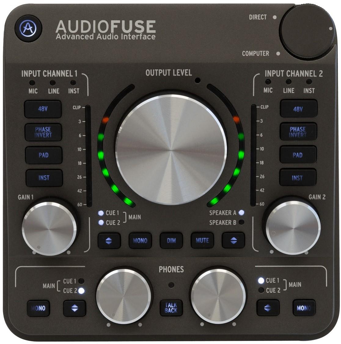 Звуковая карта Arturia Audiofuse Space Grey