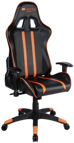 Игровое кресло Canyon Fobos черный/оранжевый