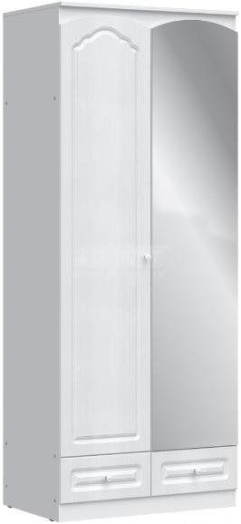 Шкаф Столплит Амалия 409-900-000-0831 правый дуб беленый 90x223x58 см