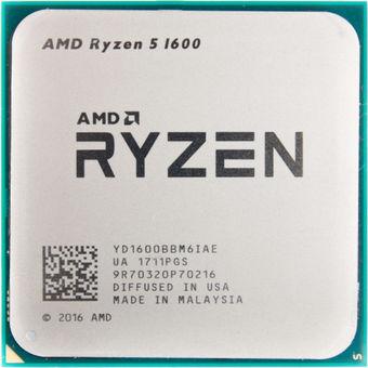 Процессор (CPU) AMD Ryzen 5 1600 3.2GHz OEM