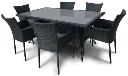 Комплект мебели Афина-Мебель AFM-170S черный