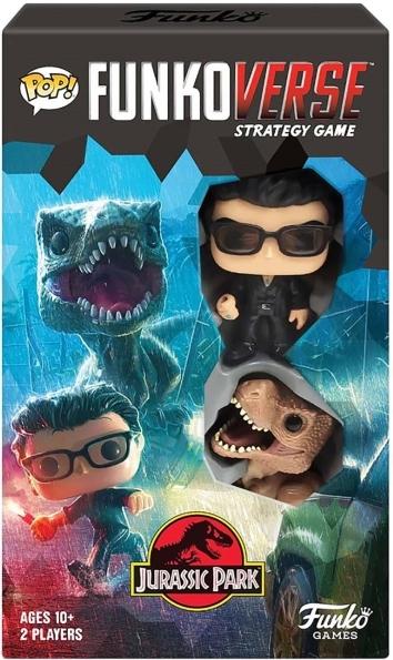 Настольная игра Funko Pop! Funkoverse: Jurassic Park 101 Expandalone
