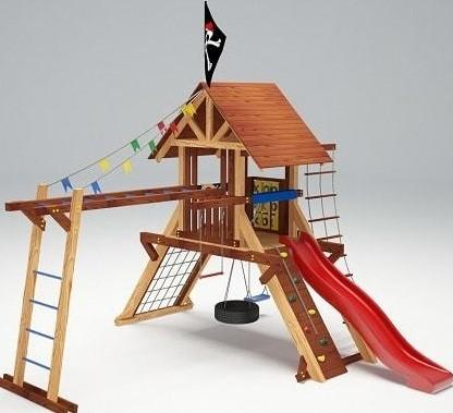 Мир детских площадок Савушка Lux-1