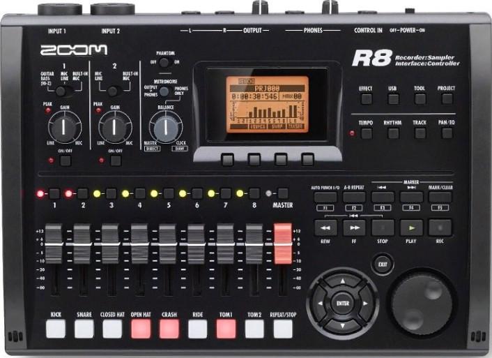 Портативный рекордер Zoom R8