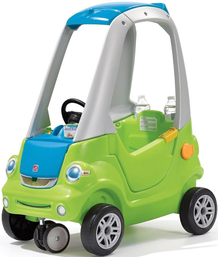 Машинка Step2 Лёгкий поворот Green