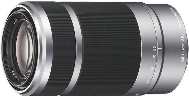 Объектив Sony E 55-210mm f/4.5-6.3 OSS Silver