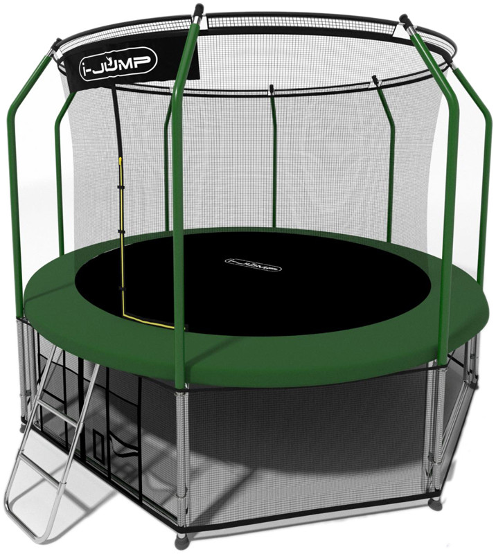 Батут i-Jump Elegant 10FT Green (с внут…