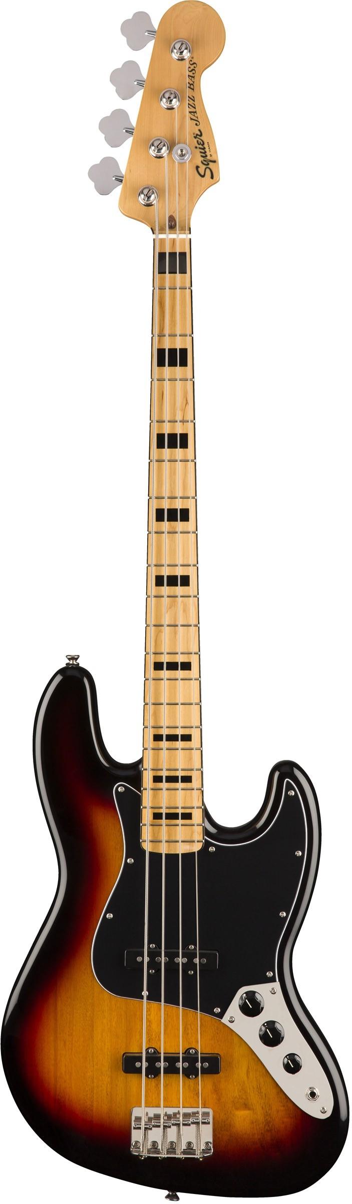 Бас-гитара Fender Squier SQ CV 70S Jazz Bass MN 3TS