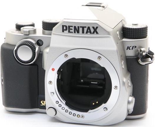 Фотоаппарат Pentax KP Body Silver