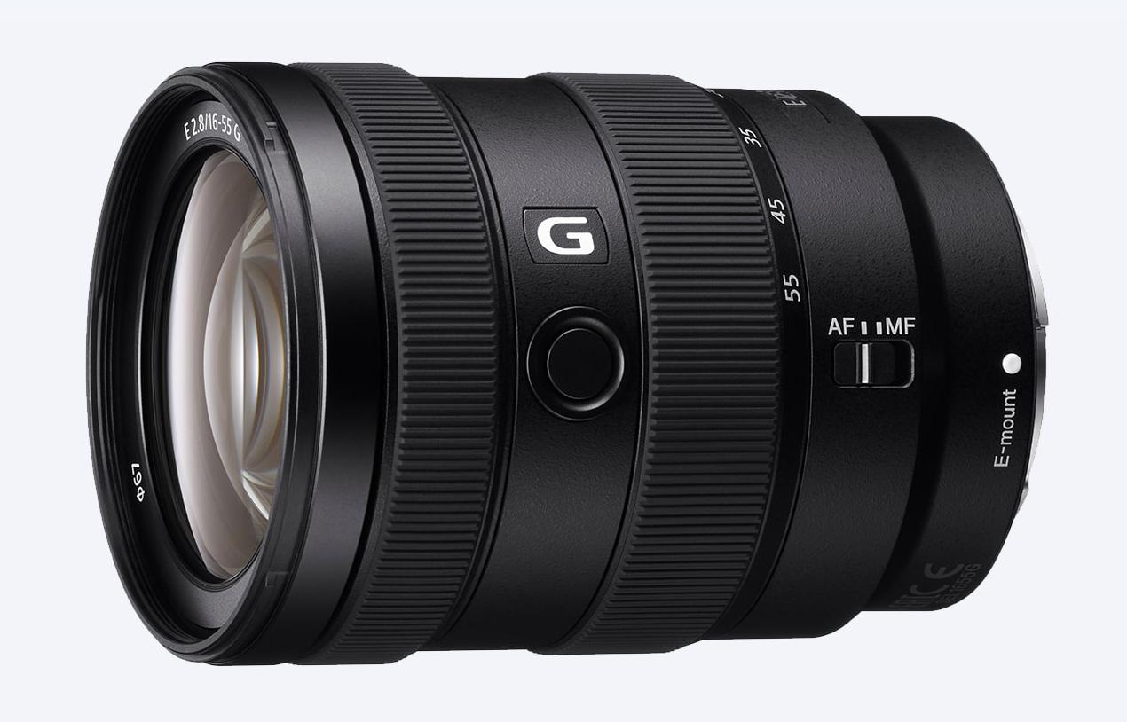 Объектив Sony E 16-55mm f/2.8 G Black