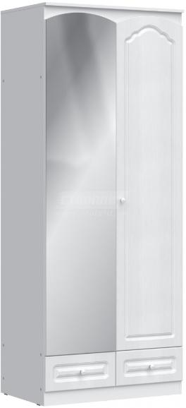 Шкаф Столплит Амалия 409-900-001-0831 левый дуб беленый 90x223x58 см