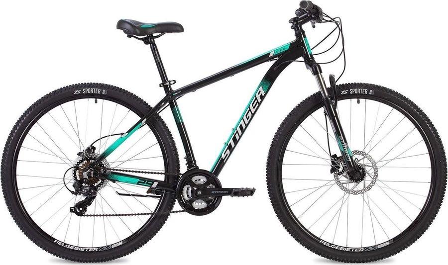 """Велосипед Stinger Element Pro 29 (2020) зеленый 29""""/22"""""""