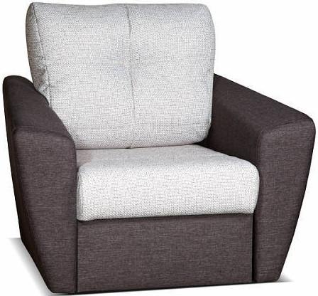 Кресло Цвет Диванов Амстердам Next cерый 104x90x76 см