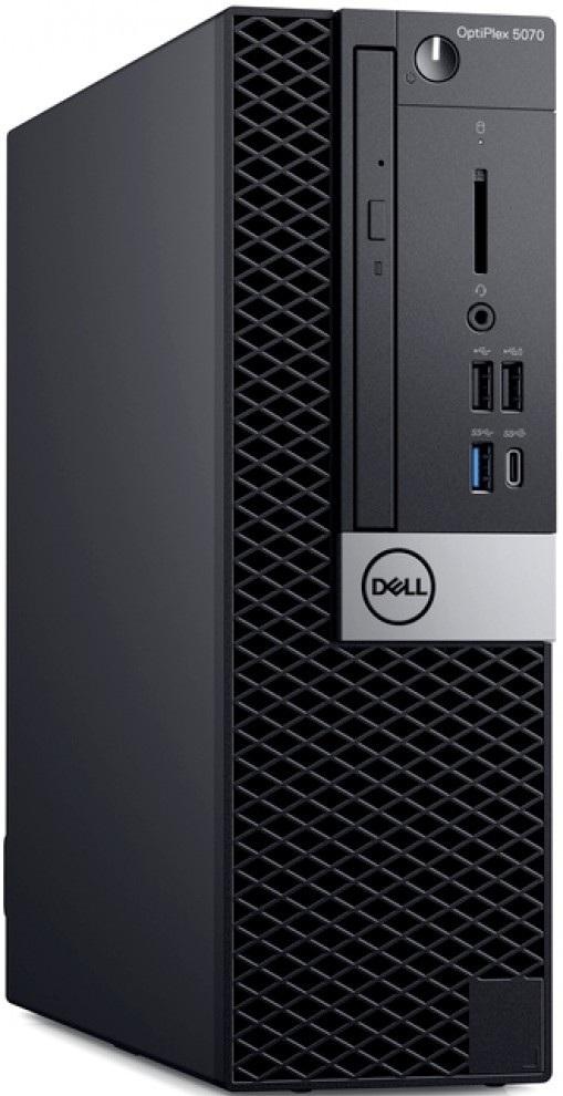 Компьютер Dell OptiPlex 5070 3GHz/8Gb/512GbSSD/W10 Black