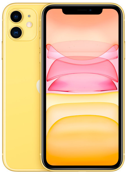 Смартфон Apple iPhone 11 128Gb Yellow 1️⃣1️⃣