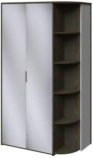 Шкаф Интердизайн Тоскано ясень темный/белый 2209x1220x599 см