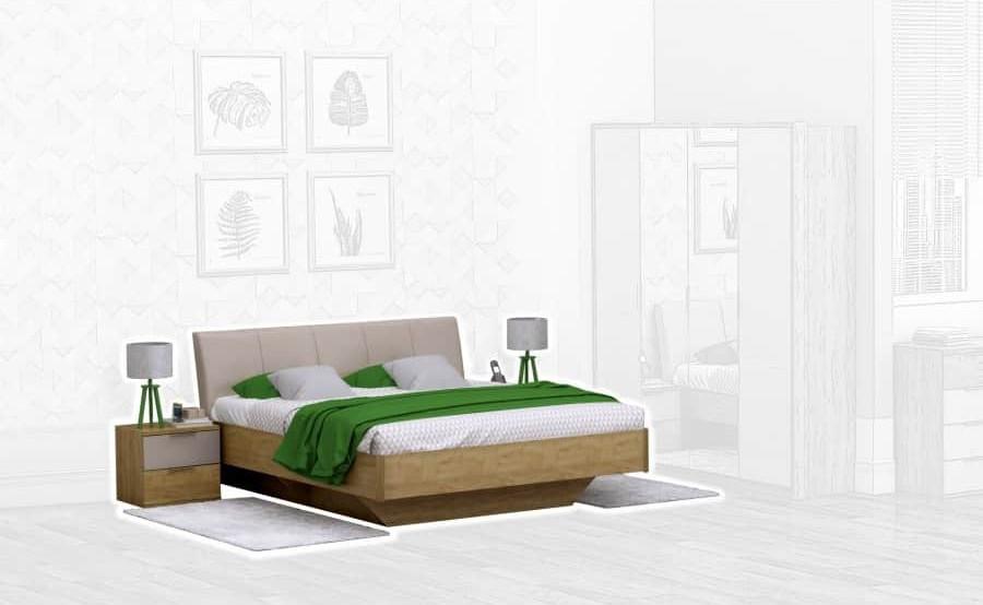 Спальня Интердизайн Тоскано дуб крафт/капучино (композиция 1)