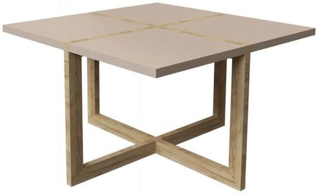 Журнальный столик Интердизайн Моби дуб/капучино 480x800x800 см