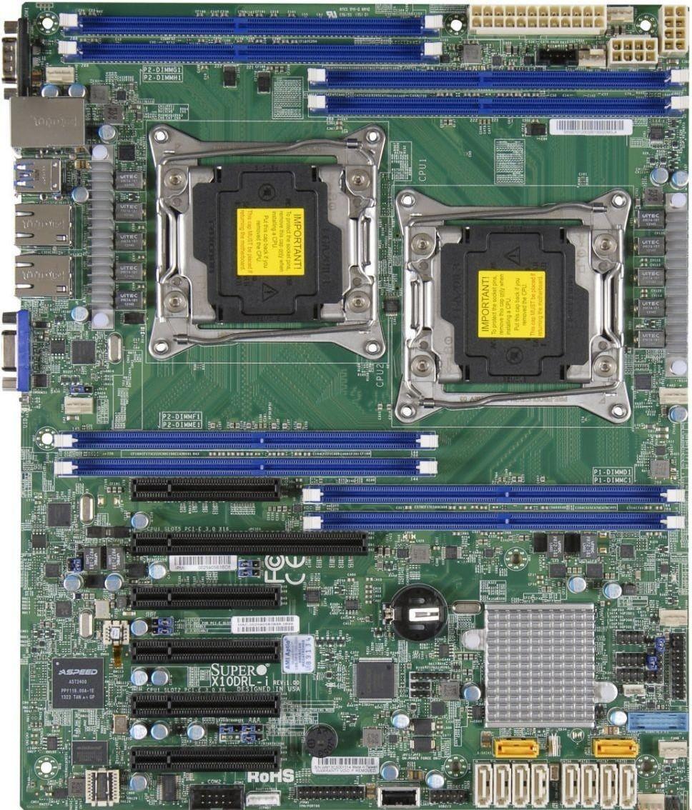 Материнская плата Supermicro X10DRL-I LGA 2011v3
