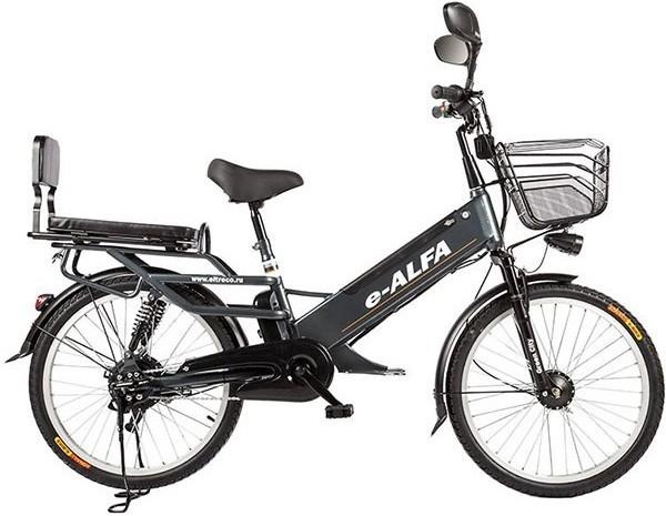 Велосипед Eltreco e-ALFA GL Dark Grey